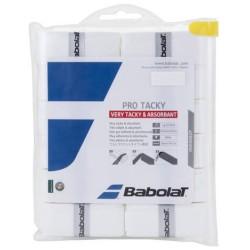 Babolat Pro Tacky Surgrip x12 White