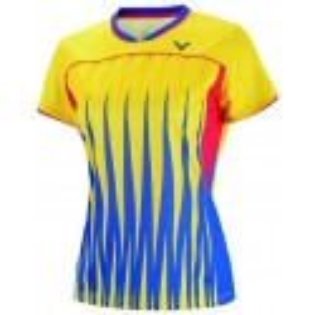 Victor Tee Shirt Women 6604 Yellow