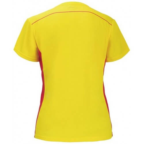Victor Tee Shirt Women 6606 Women Yellow dos