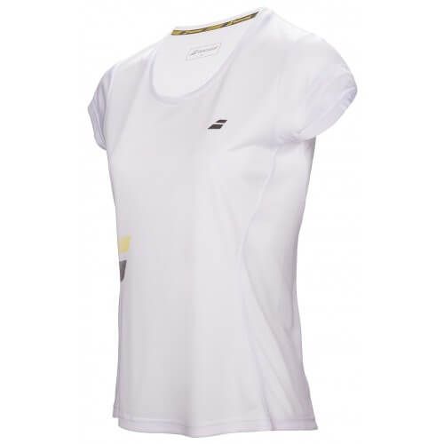 Babolat Flag Core Club Tee Women Blanc