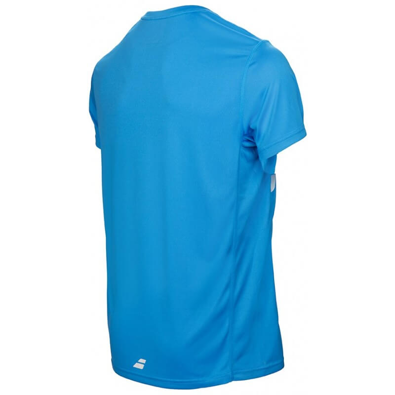 Babolat Flag Tee Core Club Boy Bleu