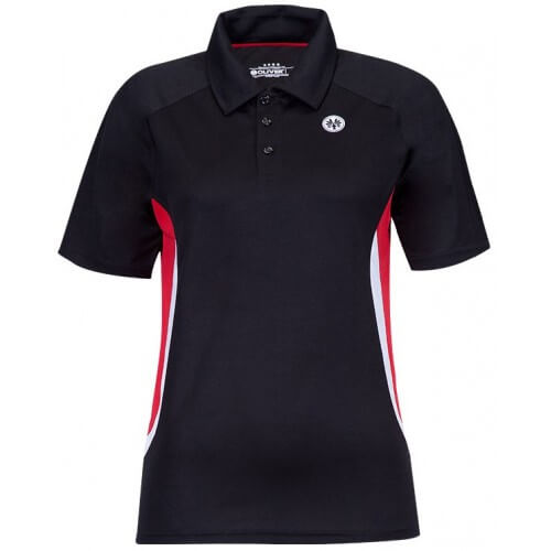 Oliver Polo Mexico Black Red