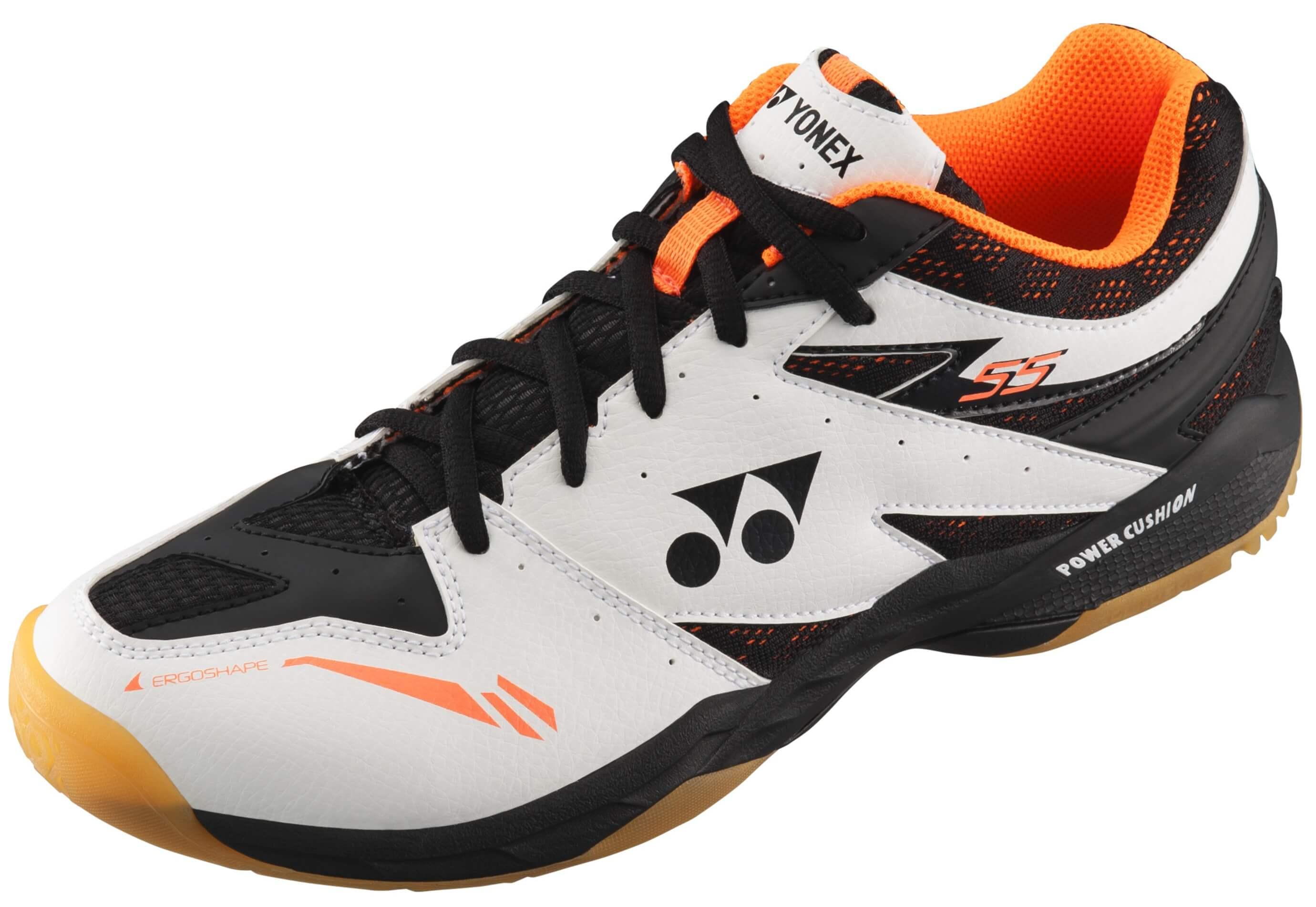 Yonex PC 55 Men White Orange chaussures