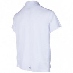 Babolat Polo Poly Pique Core 17 Men Blanc