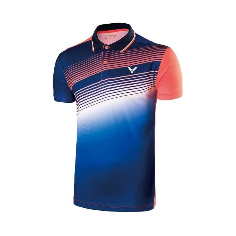 Victor Polo Men 70005 Blue Orange