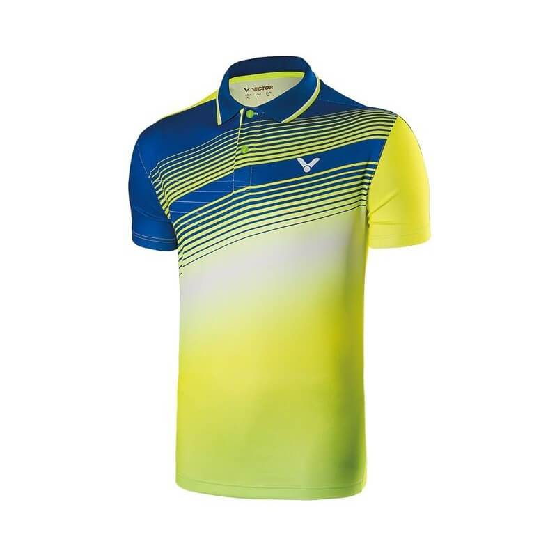 Victor Polo Men 70005 Blue Yellow