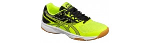 Asics Gel Upcourt Yellow Grey Black