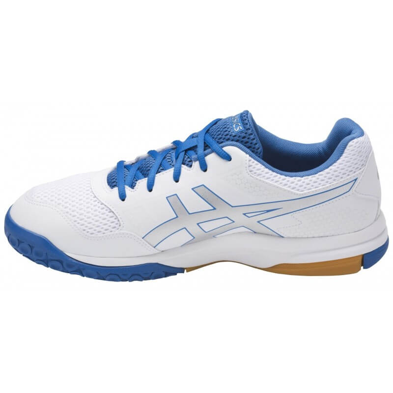 Asics Gel Rocket 8 Men White Silver Blue