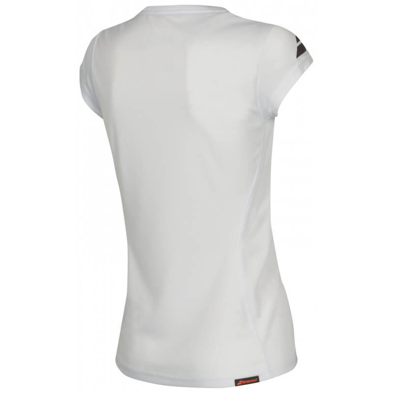 Babolat Flag Core Club Tee 201 8 Women White