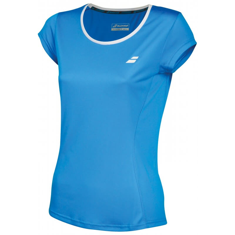 Babolat Flag Core Club Tee 201 8 Women Diva Blue