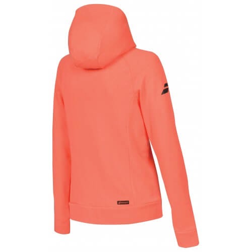 Babolat Hood Sweat Core 2018 G Irl Fluo Strike