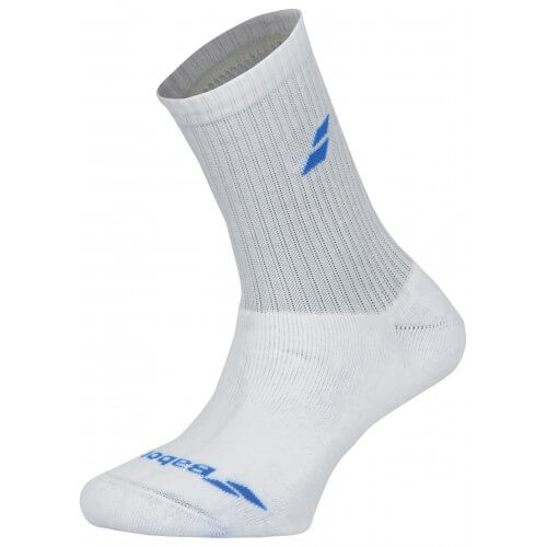 Babolat 3 Pairs Pack White Blue