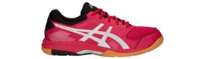 Asics Gel Rocket 8 Men Samba Red Silver