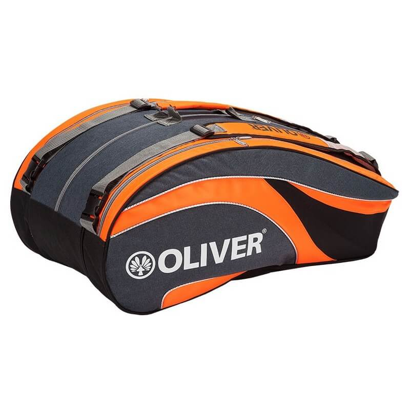 Oliver Triple Bag Xl Grey Orange