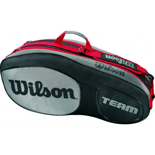 Wilson Pro Team Iii X6 Black Grey