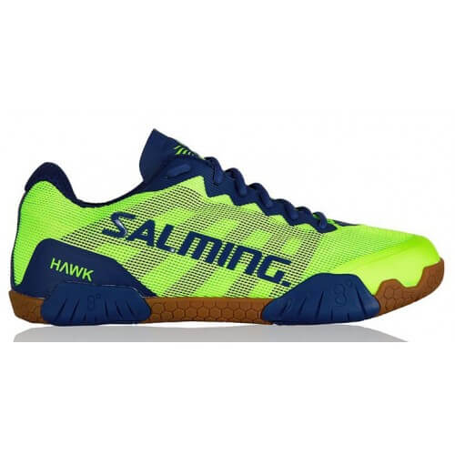 Salming Hawk Men Fluo Green Blue