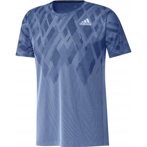 Adidas Colorblock Tee Men Blue