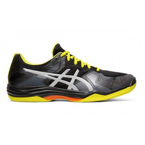 Asics Gel Tactic Men Black Silver