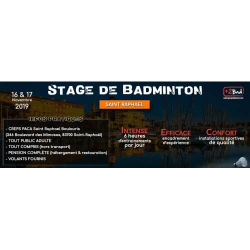 Stage Boulouris 16 et 17 Novembre 2019