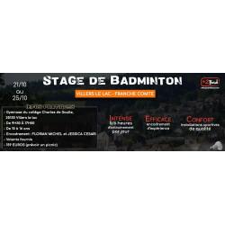 Stage Morteau du 28 Septembre au 1er Novembre 2019