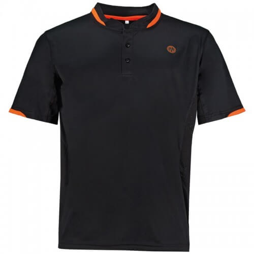 Oliver Polo Palma Men Noir Orange