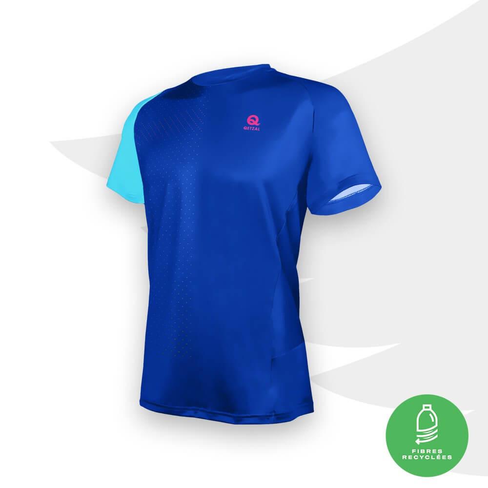 Qetzal Maillot Competition Men Blue - t-shirt