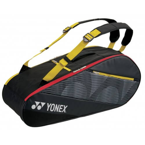 Yonex Active Racket Bag X6 Black Yellow