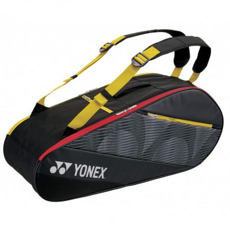 Yonex Active Racket Bag 82026 X6 Black Yellow