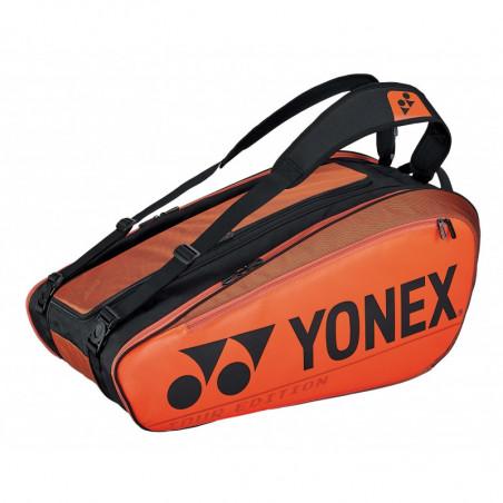Yonex Pro Racket Bag 92029 X9 Copper Orange