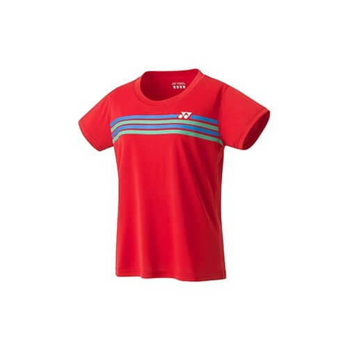 Yonex Crew Neck Yw022 Women Sunset Red