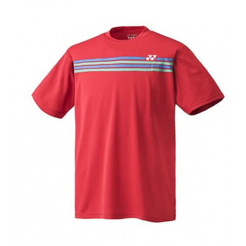 Yonex Crew Neck Ym022 Men Sunset Red
