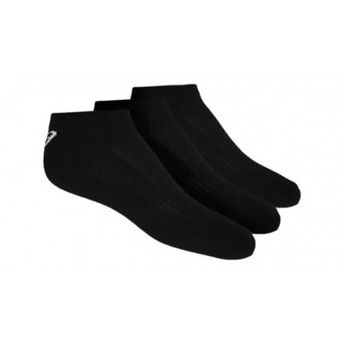 Asics 3PPK Ped Socks Black