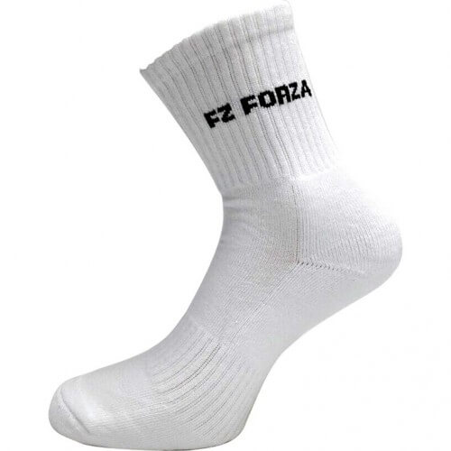 Forza Comfort Socks White