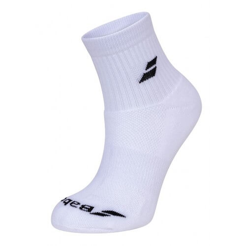 Babolat Quarter 3 Pairs Packs White