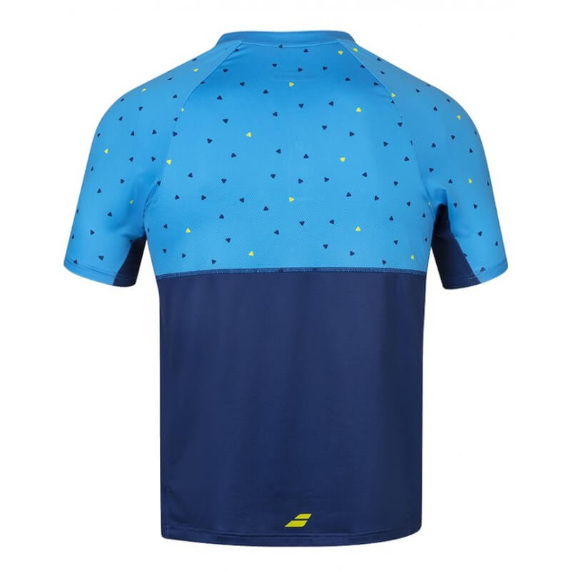 Babolat Compete Polo Men Malibu Blue Estate Blue