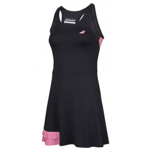 Babolat Compete Dress Black Geranium Pink