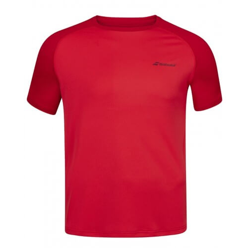 Babolat Crew Neck Play Men Tomato Red