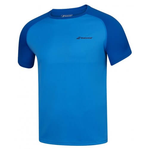 Babolat Crew Neck Play Men Blue Aster