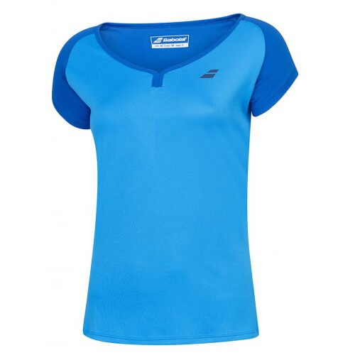 Babolat Cap Sleeve Play Women Blue Aster