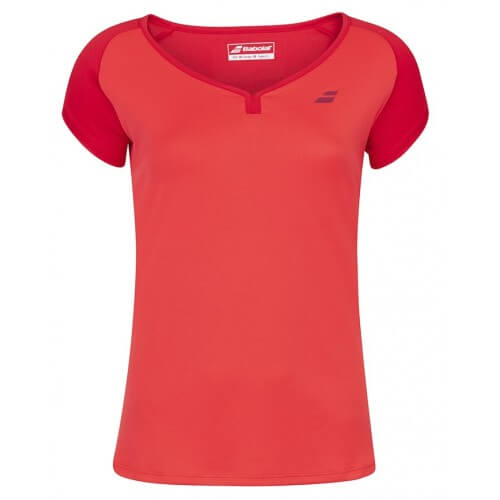 Babolat Cap Sleeve Play Women Tomato Red