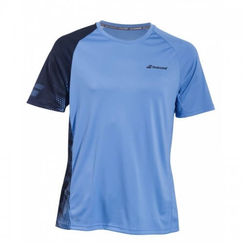 Babolat Perf Crew Neck Men 2019 Parisian Blue Black
