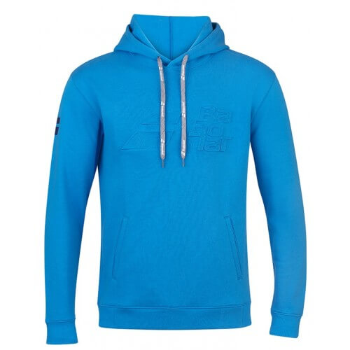 Babolat Hood Sweat Exercise Men Blue Aster