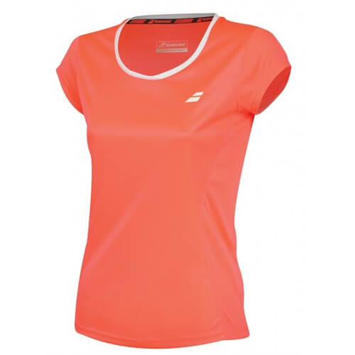 Babolat Flag Core Club Tee 2018 Women Fluo Strike