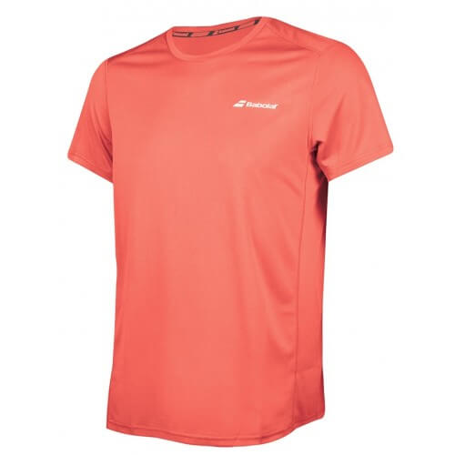 Babolat Flag Core Club Tee 2018 Men Fluo Strike
