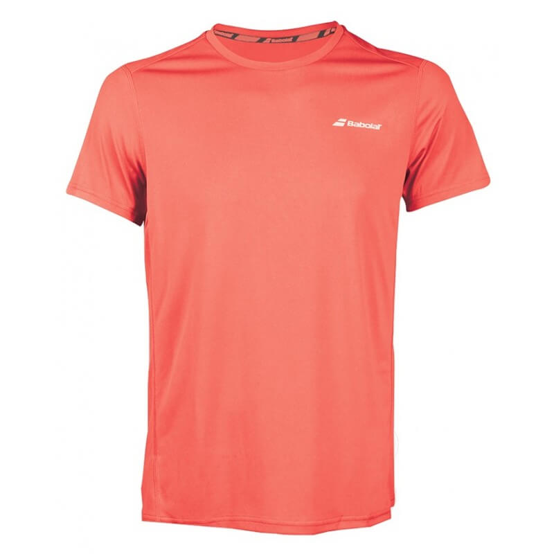 Babolat Flag Core Club Tee 201 8 Men Fluo Strike