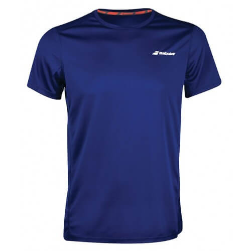 Babolat Flag Core Club Tee 2018 Boy Estate Blue