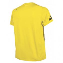 Babolat Flag Core Club Tee 2018 Boy Yellow