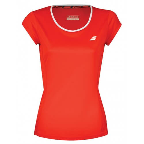 Babolat Flag Core Club Tee 201 8 Girl Red