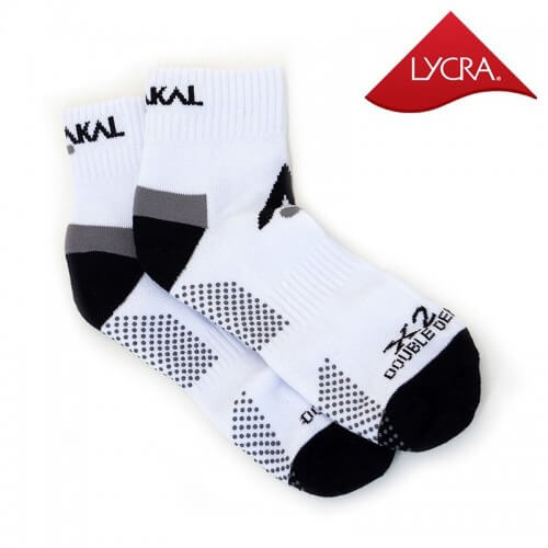 Karakal Socks X2 Ankle White Black