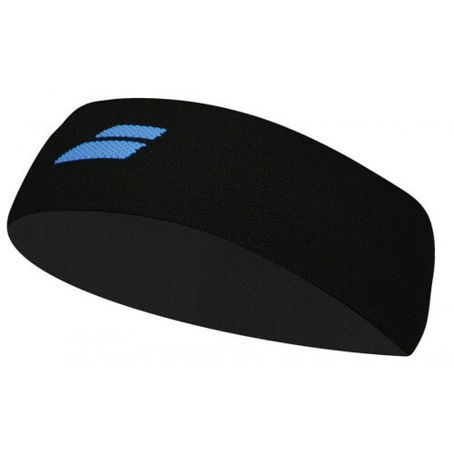 Babolat Logo Headband White Black